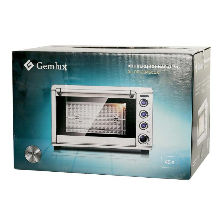 Конвекційна піч GEMLUX (GL-OR-2045LUX)