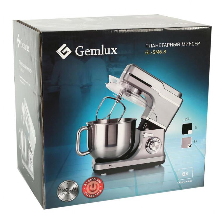 Планетарний міксер GEMLUX (GL-SM6.8GR)