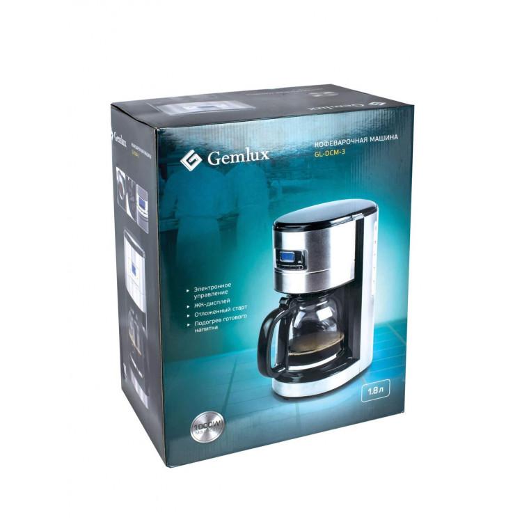 Крапельна кавоварка GEMLUX (GL-DCM-3)