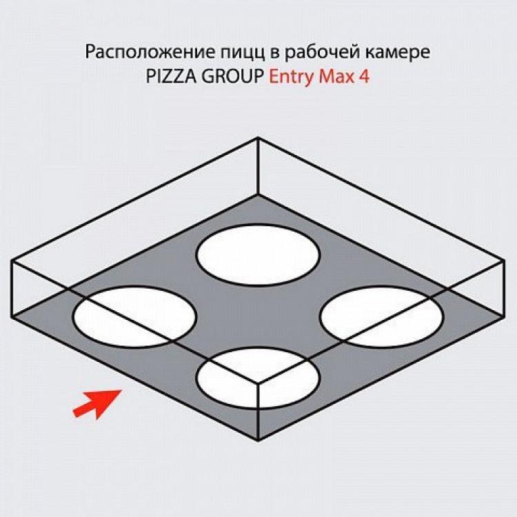 Печь для пиццы Pizza Group Entry Max 4 (380)