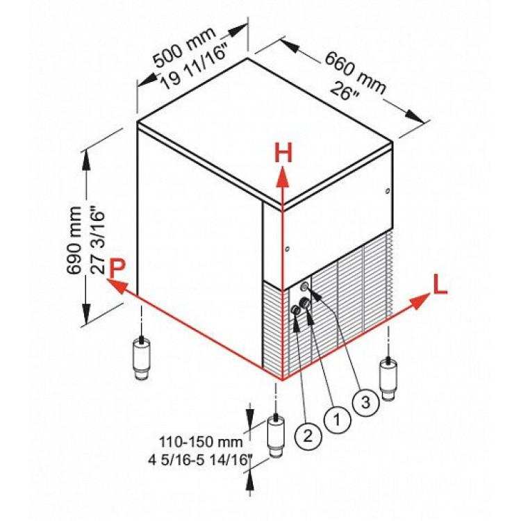 Льодогенератор Brema GB902A
