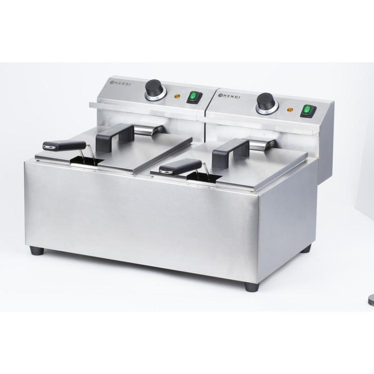 Фритюрниця MasterCook - 2 x 8 л - 207307 Hendi