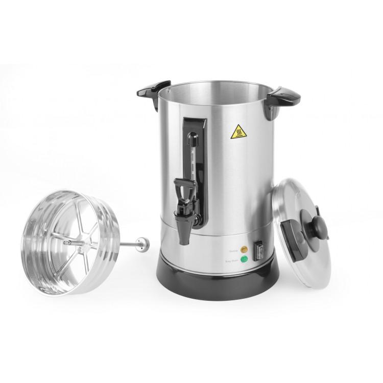 Кип'ятильник - кофеварочного машина з поодинокими стінками, 8.8 л - 211267 Hendi