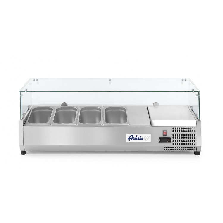 Вітрина холодильна 4xGN 1/3 - надставка - 232965 Hendi