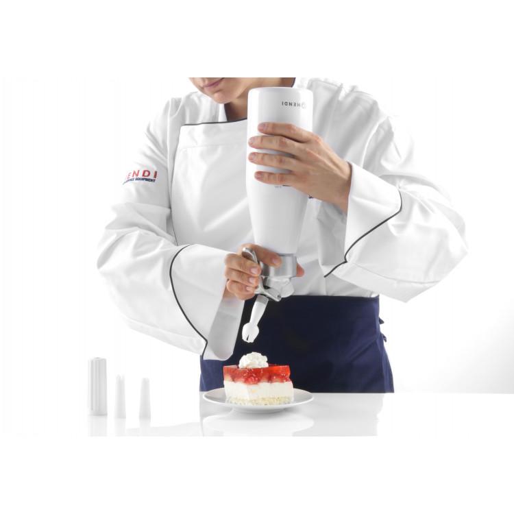Сифон для вершків Kitchen Line 1 л - 588376 Hendi