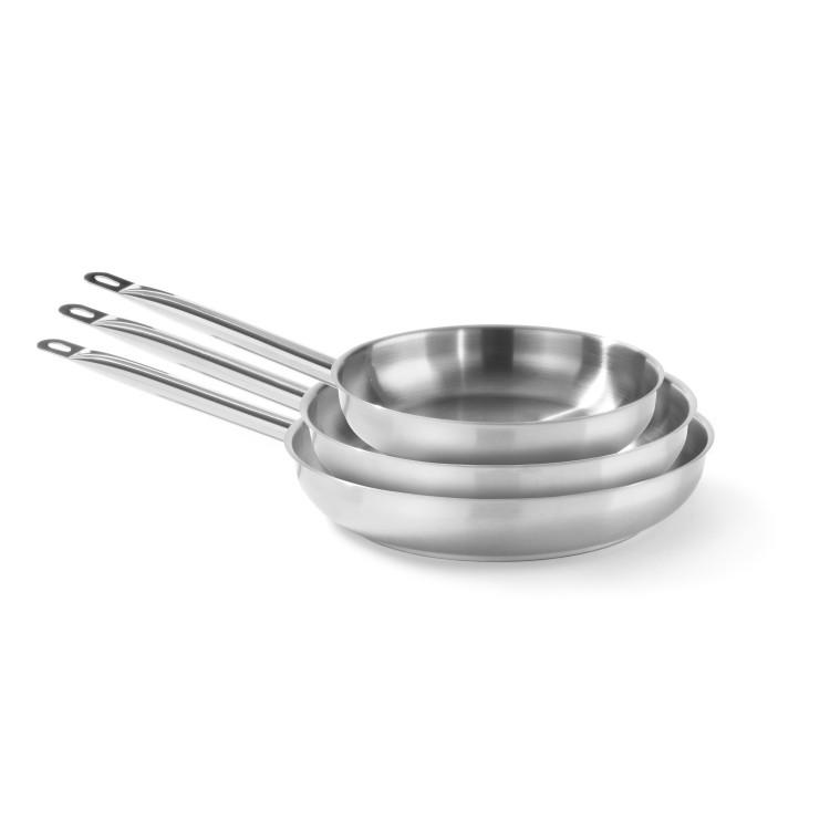 Сковорода без крышки Profi Line, 2л, Ø240x(H)45 мм - 835432 Hendi