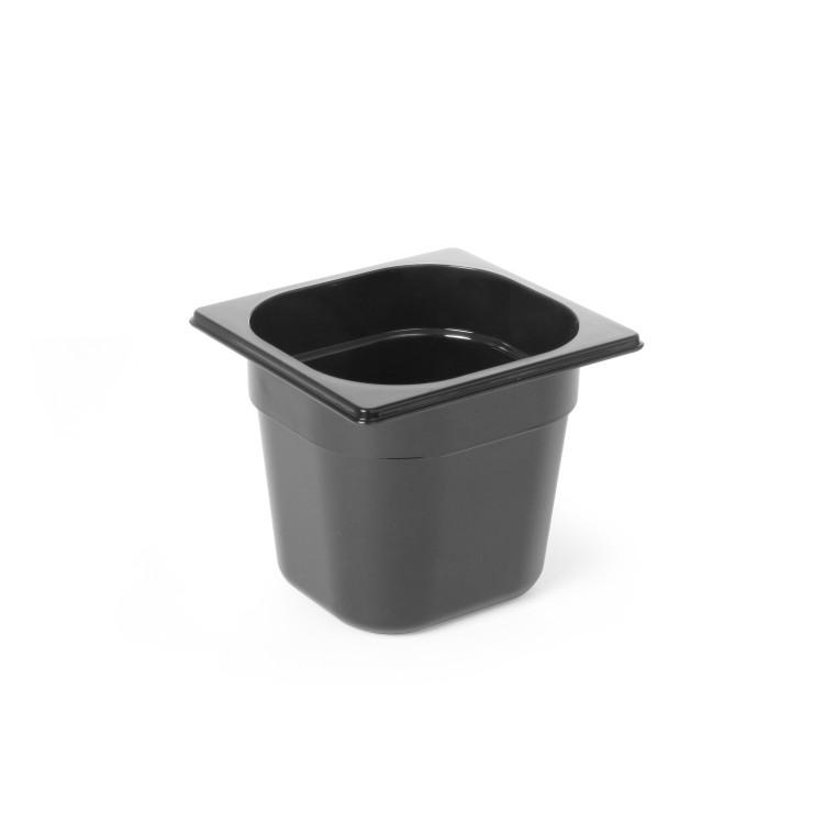 Гастроемкость из черного поликарбоната GN1/6 (H)100 мм - 862728 Hendi
