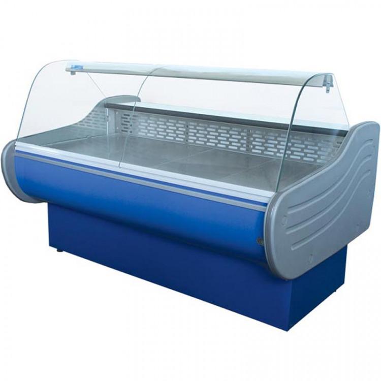 Холодильная витрина ВХСК ЕВРОПА 1.3 Д среднетемпературная с динамическим охлаждением