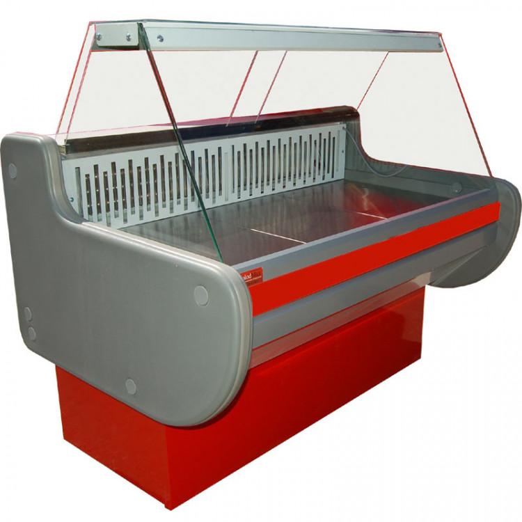 Холодильна вітрина ВХСК ЛІРА 1.3 М середньотемпературна