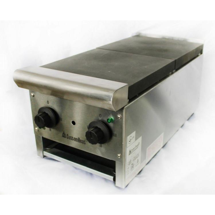 Плита електрична настільна CUSTOMHEAT, 2 конфорки (RE 2-12)
