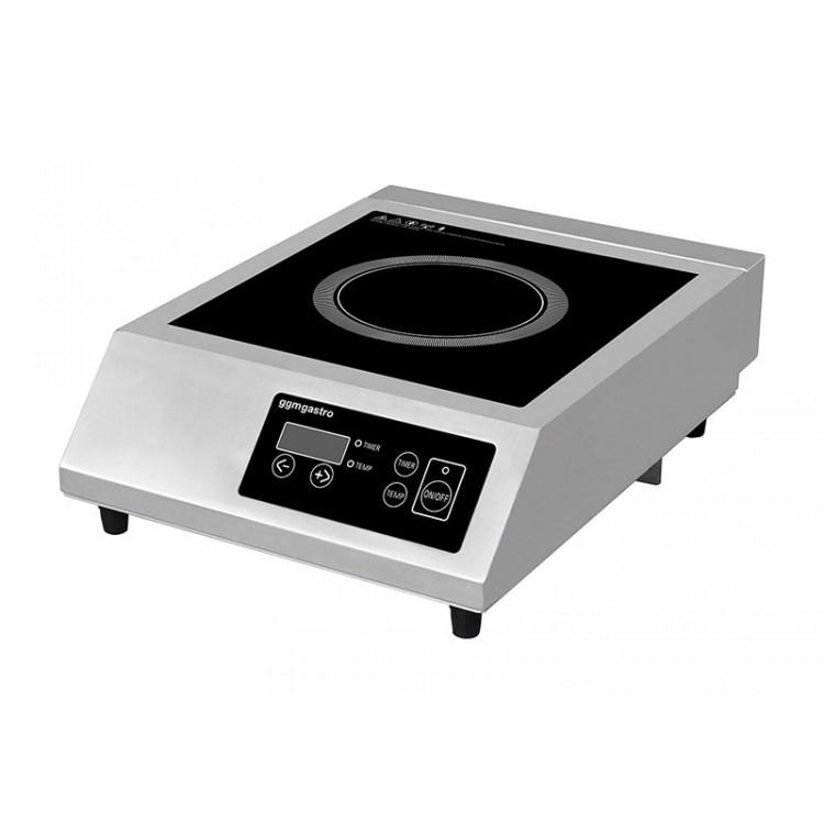 Плита индукционная - 3,5 кВт GGM Gastro IDS4