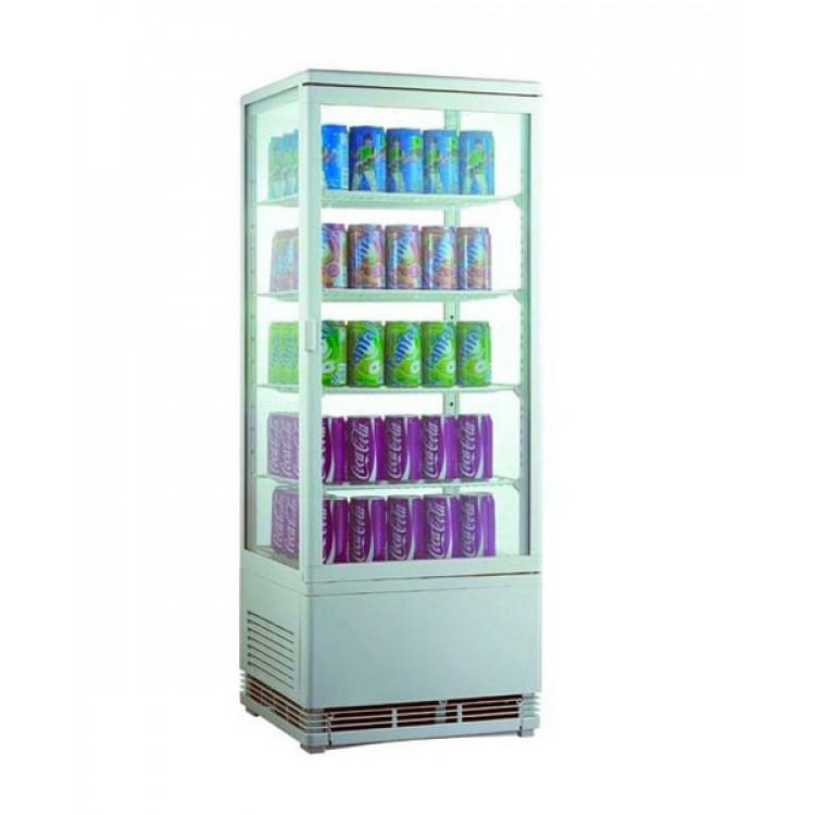 Шафа холодильна FROSTY RT98L-1D White