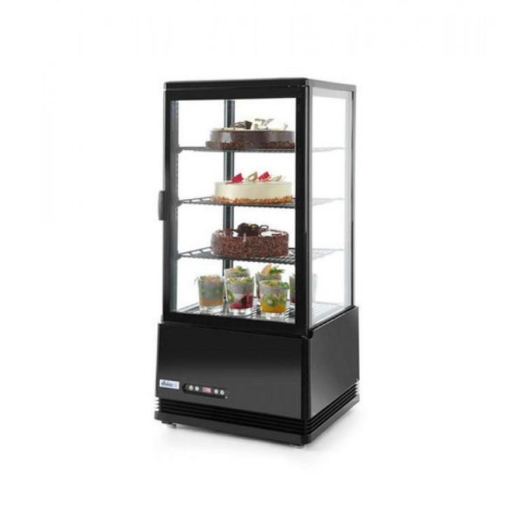 Шафа холодильна FROSTY RT98L-3 Black