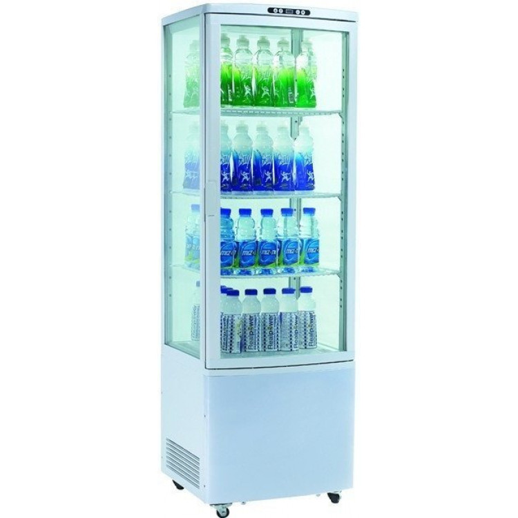 Шафа-вітрина холодильна EWT INOX RT215L