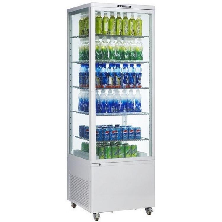 Шафа-вітрина холодильна EWT INOX RT500L
