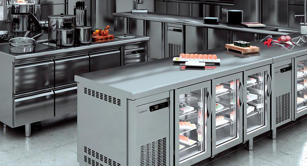 Промислове холодильне обладнання купити в Gastroshop. В наявності та під замовлення