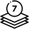 конвекційна піч на 7 рівнів